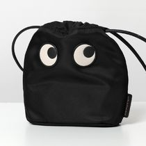 ANYA HINDMARCH 巾着バッグ 141710 DRAWSTRING POUCH EYES