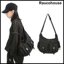 大人気★Raucohouse☆FOUR BUCKLE POCKET CROSS BAG
