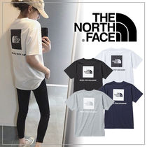 THE NORTH FACE(ザノースフェイス) Tシャツ・カットソー 【THE NORTH FACE】ショートスリーブスクエアーロゴティー
