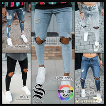 【Sinners Attire】DESTROYED JEANS スキニーフィット