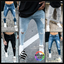 【Sinners Attire】RIP & REPAIR JEANS スキニーフィット