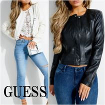 GUESS*VIPER*FAUX-LEATHER ジャケット*可愛くかっこよく♪