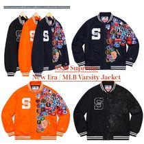 SS20 Supreme / New Era / MLB Varsity Jacket - メジャーリーグ