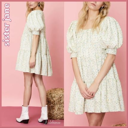 Sister Jane ワンピース 【sister jane】Confetti Tweed Mini Dress_関送込_国内発送