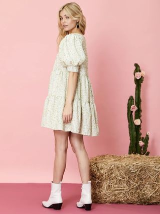 Sister Jane ワンピース 【sister jane】Confetti Tweed Mini Dress_関送込_国内発送(5)