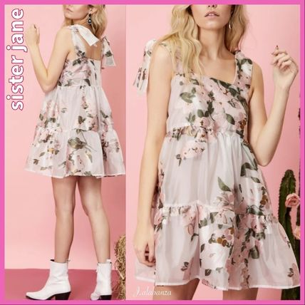 Sister Jane ワンピース 【sister jane】Likely Lady Floral Mini Dress_関送込_国内発送