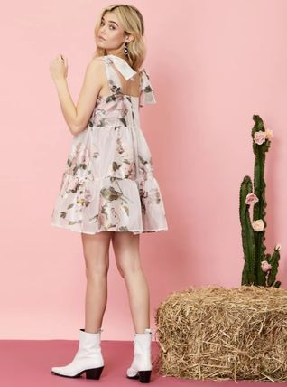 Sister Jane ワンピース 【sister jane】Likely Lady Floral Mini Dress_関送込_国内発送(3)