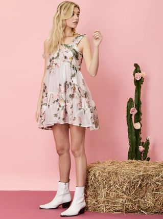 Sister Jane ワンピース 【sister jane】Likely Lady Floral Mini Dress_関送込_国内発送(4)