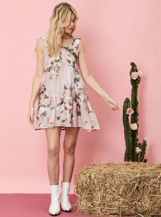 Sister Jane ワンピース 【sister jane】Likely Lady Floral Mini Dress_関送込_国内発送(5)