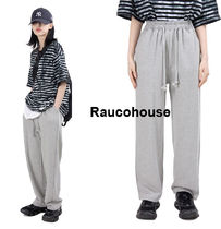 Raucohouse FRENCH TERRY WIDE TRAINING PANTS