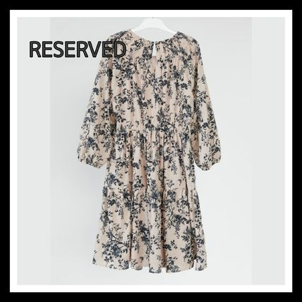 RESERVED ワンピース RESERVED☆フラワープリント ワンピース