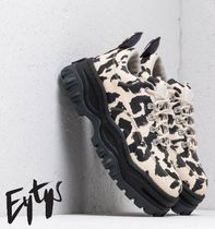 Eytys Angel Leopard Print Canvas Sneakers 厚底スニーカー