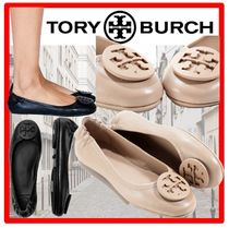 ☆Tory Burch☆MINNIE TRAVEL BALLET WITH LOGO ☆