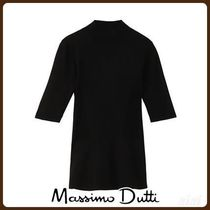 MassimoDutti♪HIGH NECK PEPLUM SWEATER