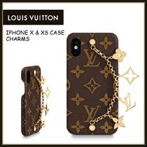 LOUIS VUITTON☆ IPHONE X & XS ケース チャーム☆送料込