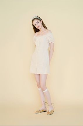 Margarin Fingers ワンピース 日本未入荷MARGARIN FINGERSのcheck square neck one piece(3)