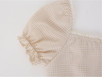 Margarin Fingers ワンピース 日本未入荷MARGARIN FINGERSのcheck square neck one piece(9)