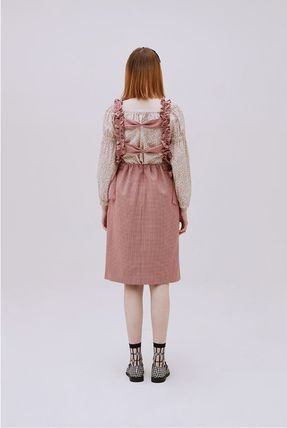Margarin Fingers ワンピース 日本未入荷MARGARIN FINGERSのribbon detail one piece 全2色(5)
