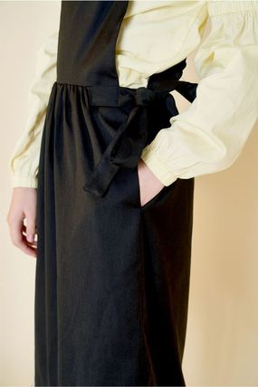 Margarin Fingers ワンピース 日本未入荷MARGARIN FINGERSのribbon detail one piece 全2色(12)