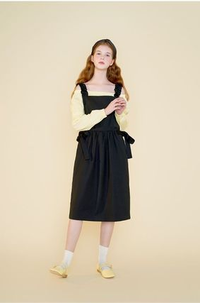 Margarin Fingers ワンピース 日本未入荷MARGARIN FINGERSのribbon detail one piece 全2色(13)