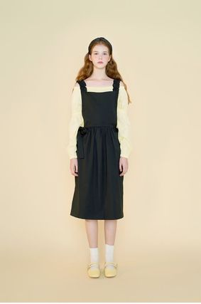Margarin Fingers ワンピース 日本未入荷MARGARIN FINGERSのribbon detail one piece 全2色(14)