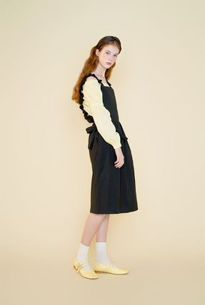 Margarin Fingers ワンピース 日本未入荷MARGARIN FINGERSのribbon detail one piece 全2色(18)