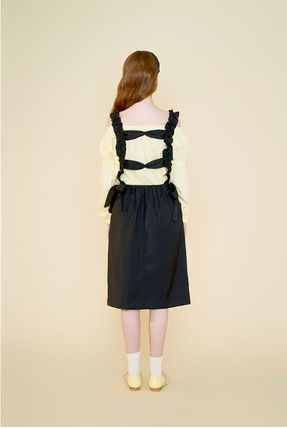 Margarin Fingers ワンピース 日本未入荷MARGARIN FINGERSのribbon detail one piece 全2色(17)