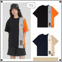 日本未入荷ROMANTIC CROWNのTHREE BLOCK TEE 全2色