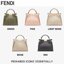 FENDI PEEKABOO ESSENTIALLY 2WAY ピーカブー レザーバック