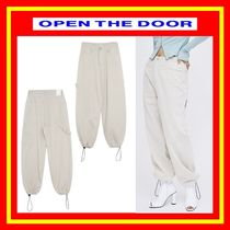 [OPEN THE DOOR]   best-fit jogger pants / 男女兼用/追跡付