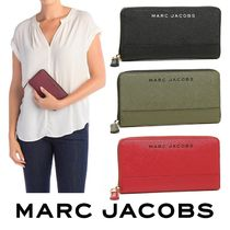 MARC JACOBS☆Branded Saffiano Standard Continental Wallet