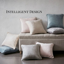 INTELLIGENT DESIGN Luxe 2点セット 現代的 スクエア クッション