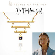 【TEMPLE OF THE SUN】Ma Necklace Gold ネックレス ゴールド