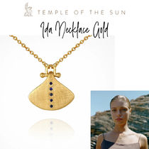【TEMPLE OF THE SUN】Ida Necklace Gold ゴールドネックレス♪