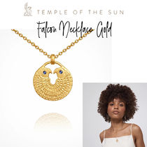 【TEMPLE OF THE SUN】Falcon Necklace ゴールドネックレス