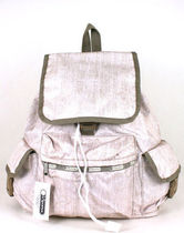 """SALE ! ☆USLeSportsac """"GOLD RUSH"""" VOYAGER BACKPACK 7839-C058"""