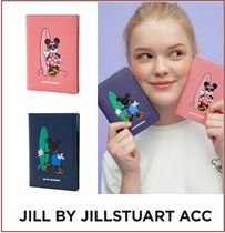 [JILL BY JILLSTUART ACC] Leather Passport Wallet ★コラボ★