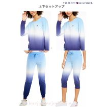 Tommy Hilfiger◇Cotton Ombre ロゴ入り スウェット 上下セット