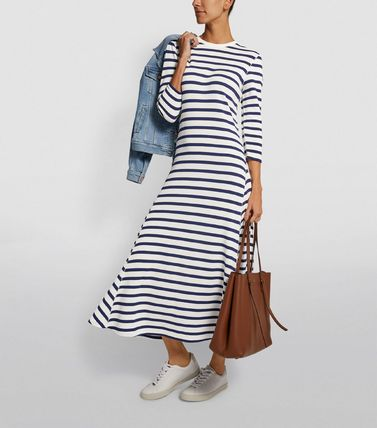 Ralph Lauren ワンピース 【Ralph Lauren】Stripe Print Maxi Dress ストライプワンピース