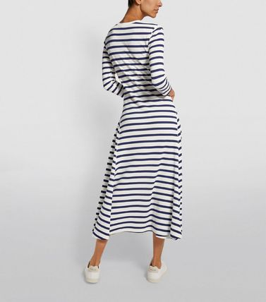 Ralph Lauren ワンピース 【Ralph Lauren】Stripe Print Maxi Dress ストライプワンピース(4)