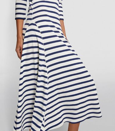 Ralph Lauren ワンピース 【Ralph Lauren】Stripe Print Maxi Dress ストライプワンピース(5)