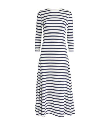 Ralph Lauren ワンピース 【Ralph Lauren】Stripe Print Maxi Dress ストライプワンピース(7)