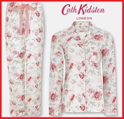 Cath Kidston ルームウェア・パジャマ 新作!【キャスキッドソン】長袖パジャマセット