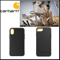 carhartt made in USA 耐ショック iphone ケース (8/7/6s/X/Xs)