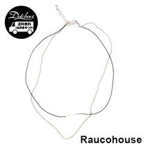 RAUCO HOUSE COLOR BAR CHAIN NECKLACE KM64 追跡付