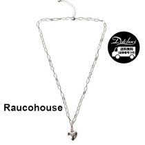 RAUCO HOUSE HEART CHAIN NECKLACE KM66 追跡付