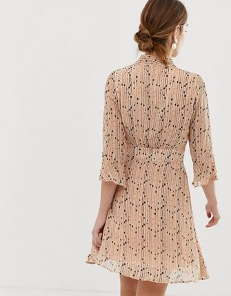 YAS ワンピース YASY.A.S spotted skater dress(2)