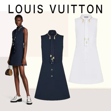 Louis Vuitton ワンピース 人気☆【LouisVuitton】LV★ FITTED AND FLARED DRESS
