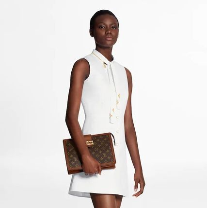 Louis Vuitton ワンピース 人気☆【LouisVuitton】LV★ FITTED AND FLARED DRESS(8)