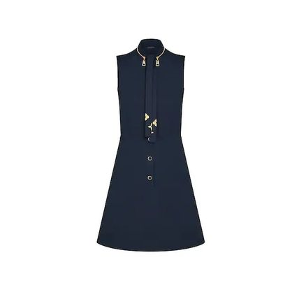 Louis Vuitton ワンピース 人気☆【LouisVuitton】LV★ FITTED AND FLARED DRESS(9)